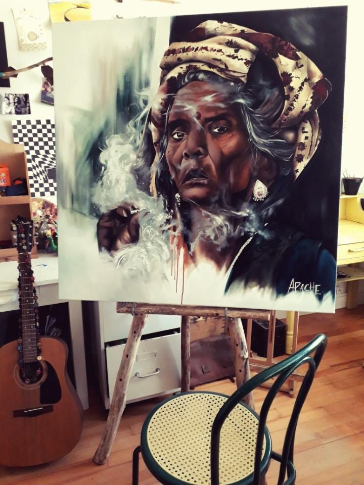 Apache Galerie Toile El Alma