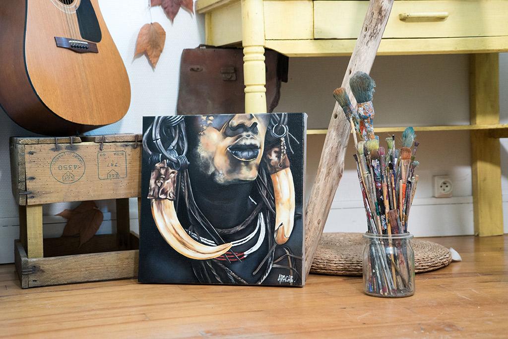 Apache Galerie Tableau Ethnie d Afrique