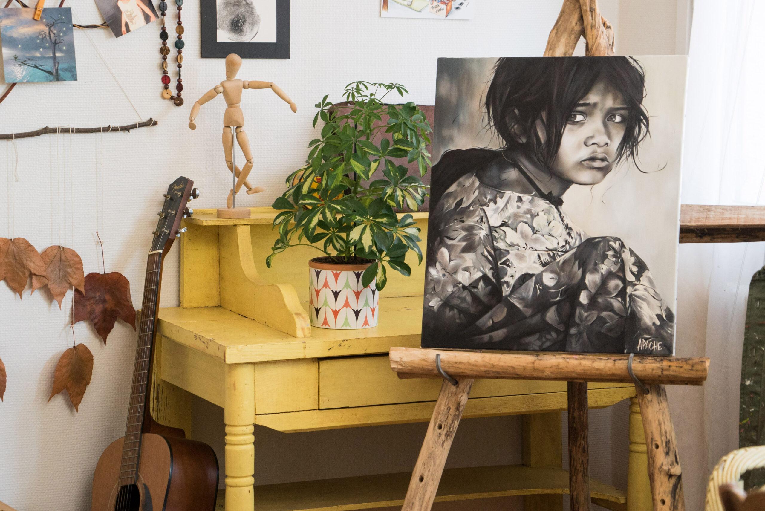 Apache Galerie Tableau Grandir