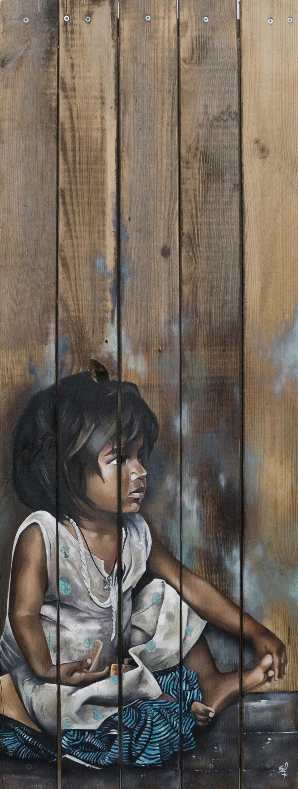 Apache Galerie Tableau Sans titre bois